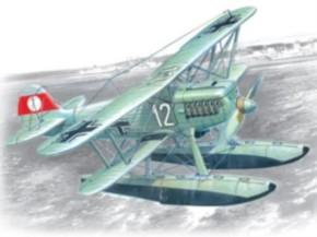 Heinkel He 51B-2 mit Schwimmern