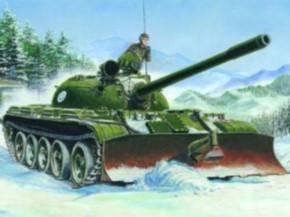 Russian T-55 (1958) mit BTU-55
