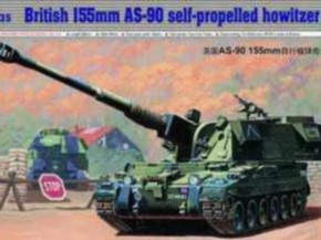 British 155 mm AS-90 S.P. Howitzer SFOR