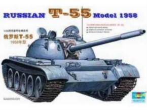 Russian T-55A Tank (1958)