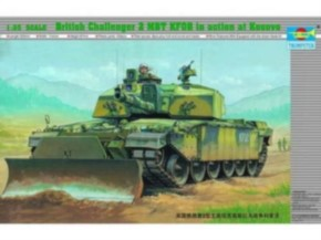 British Challenger II KFOR mit Räumpflug