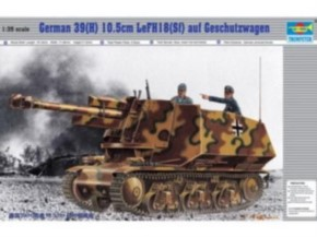Panzer Feldhaubitze 18 auf Sfl. 39 (H)