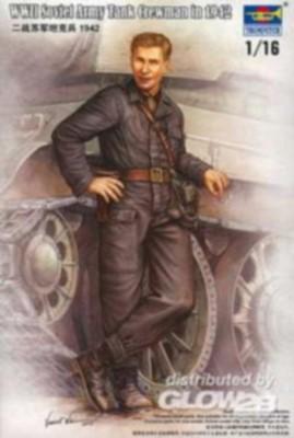 WWII Soviet Army Tank Crewman 1942