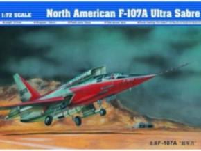 North American F-107A Ultra Sabre USAF