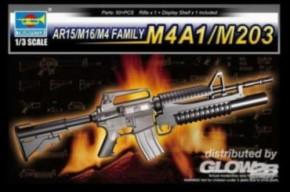 AR15/M16/M4 Family-M4A1/M203