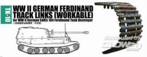 Panzerketten für dt. SdKfz Ferdinand