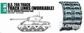 Panzerketten U.S. T66 für M4A3E8 Sherman