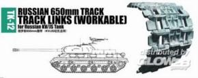 Panzerketten russ. 650mm für KV/JS