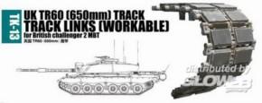 Panzerketten UK TR60 (650mm) für Challenger 2 MBT