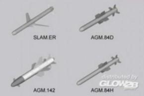 US Aircraft Missiles, 8 Raketen