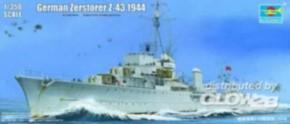 dt. Zerstörer Z-43 1944