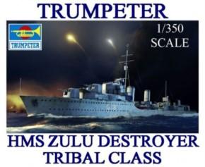 HMS Zulu Destroyer 1941