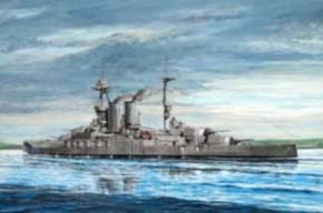 HMS Warspite 1915