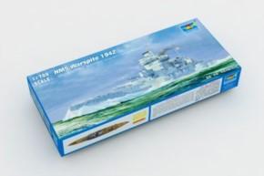 HMS Warspite 1942