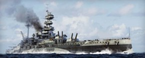 HMS Malaya 1943