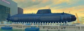 jap. Soryu Class Attack Submarine