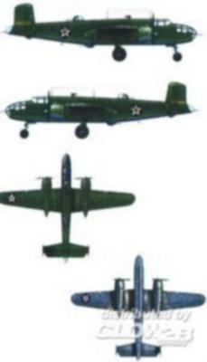 B-25 Mitchell, 10 Stück