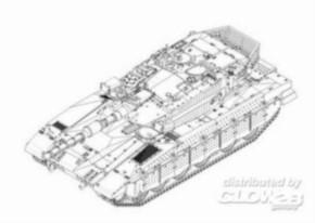 Israel Merkava MK III MBT