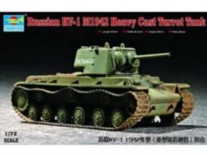russ. KV-1 Mod.1942 heavy Cast Turr