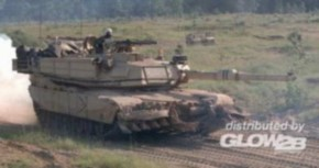 M1A1 Abrams mit Minenräum-System