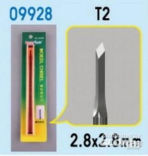 T2 Meissel 2,8 x 2,8 mm