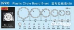 6 Plastikringe 30,40,50,60,70,80 mm