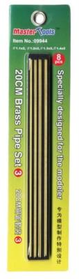 20 cm Messingrohr-Set 4, Brass Pipe