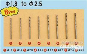 Bohrer-Set 3, 8 Bohrer von 1,8-2,5mm