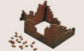 Ziegelmauern