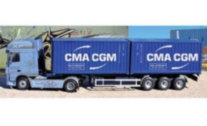 DAF XF 105 mit 2 20 Containern
