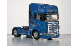 Scania R620 Blue Shark