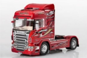 Scania R560 V8 Highline `Red Griffin`
