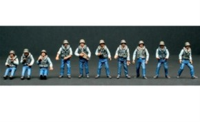 Figuren-Set Crew (10) ELCO 80 PT