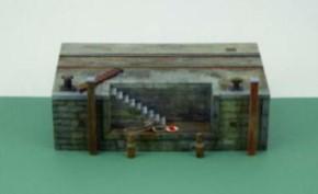 Dock mit Treppe