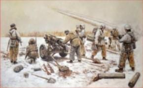 15cm Nebelwerfer 41 mit Crew