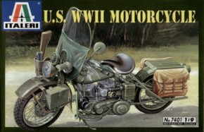 WLA 750 US Military Motorcycle