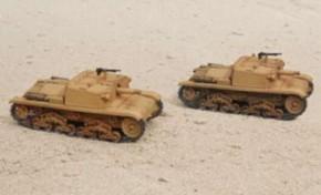Semovente M40 da 75/18, 2 Stück