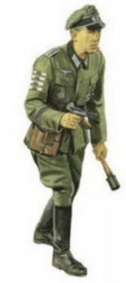 Hauptmann, Grobdeutschland Division (Karachev 1943)