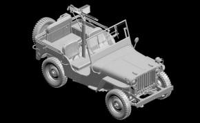 1/4ton 4X4 w/.30-cal Machin Gun