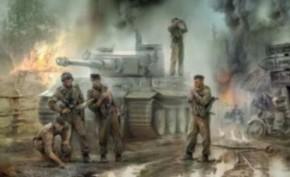 dt. Panzerbesatzung 43-45