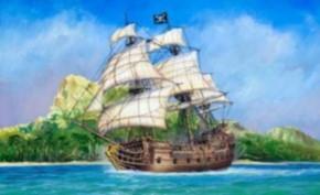 Piratenschiff Black Swan