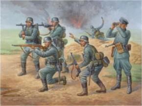 WWII dt. Infanterie, Figuren-Set