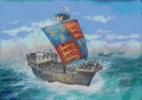English Medieval Ship Thomas