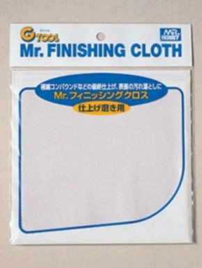 Mr. Finishing Cloth, superfeines Poliertuch