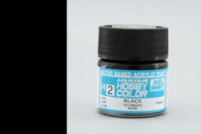 H02-schwarz, glänzend, Acryl, 10 ml