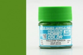 H16-gelbgrün, glänzend, Acryl, 10 ml