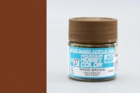 H37-holzbraun, glänzend, Acryl, 10 ml