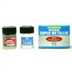 H1007-Super Plate Silber mit Verdünnung, 10 ml