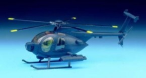 MH-6 Stealth Helicopter