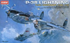 P-38 Lightning, J, L, J Droopsnoot